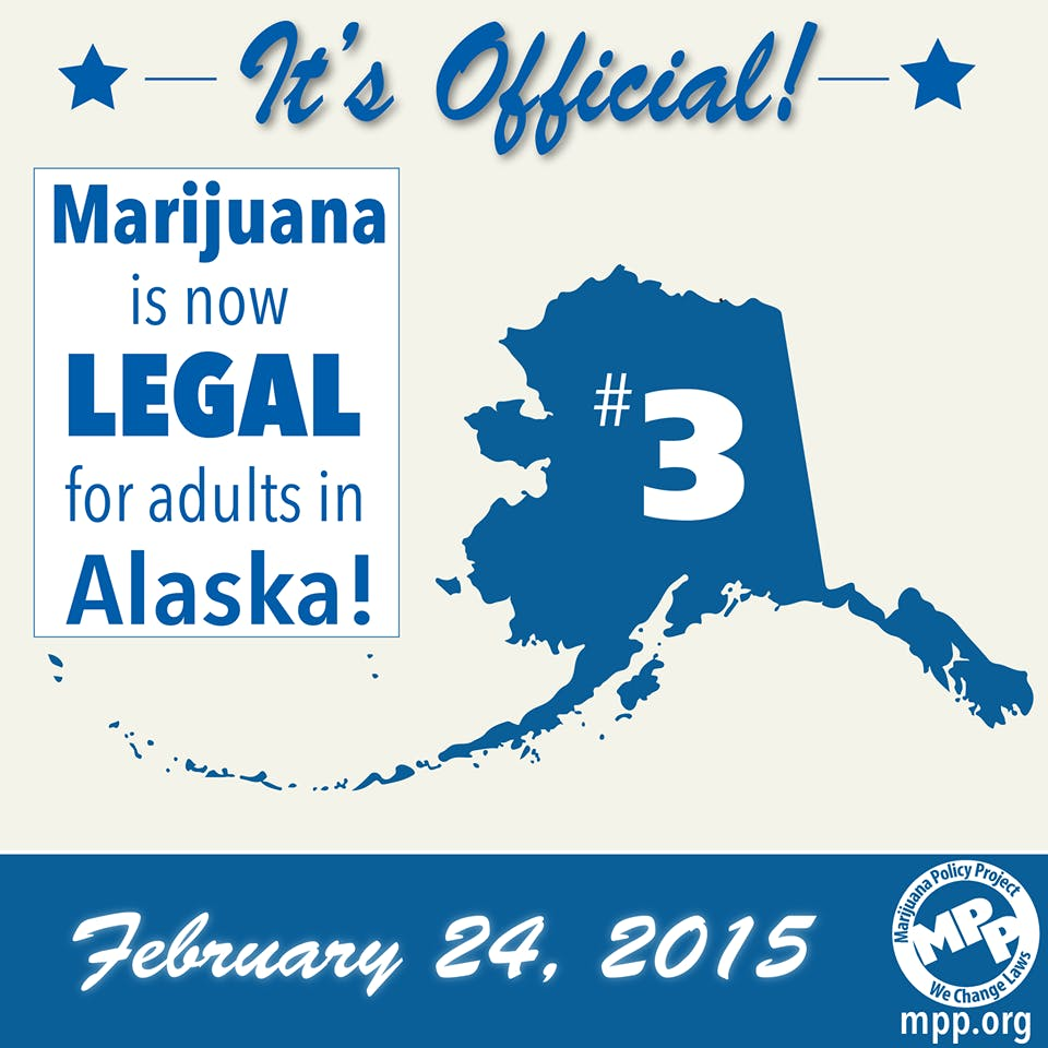 Congrats Alaska Cannabis Prohibition Is Wasting Lives And Eating Your Tax Dollars