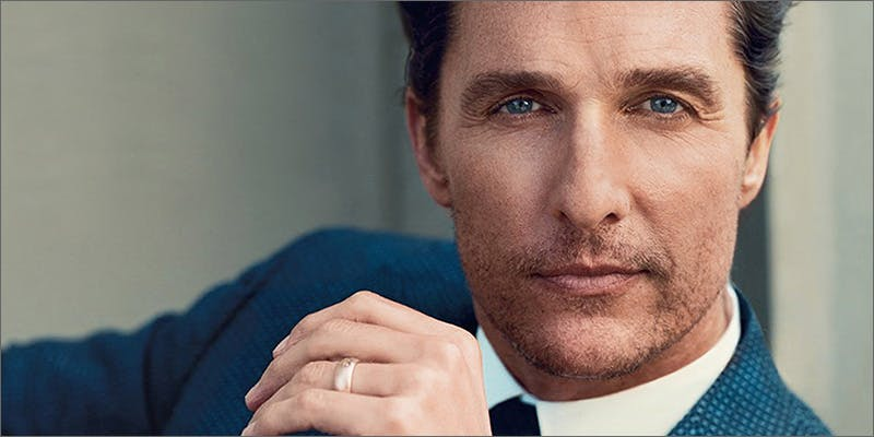Matthew McConaughey Cannabis Prohibition Is Wasting Lives And Eating Your Tax Dollars