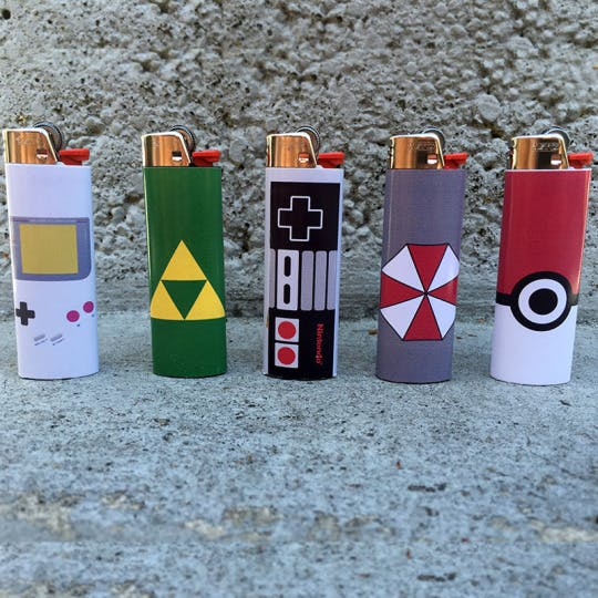 video game lighters How do you explain your brain on drugs to someone whos never tried them? Visually of course.