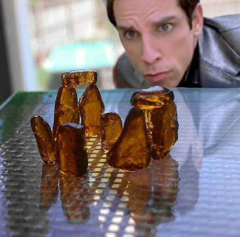 Ben Stiller How do you explain your brain on drugs to someone whos never tried them? Visually of course.