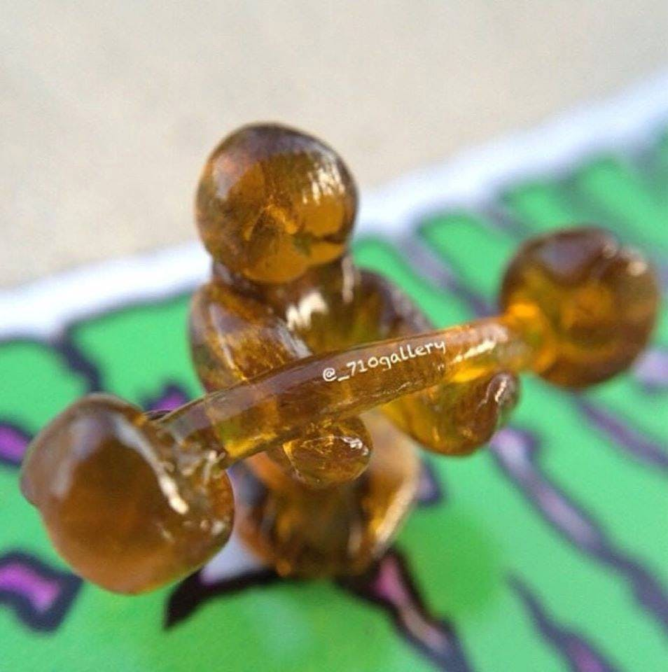 Lifting dab How do you explain your brain on drugs to someone whos never tried them? Visually of course.