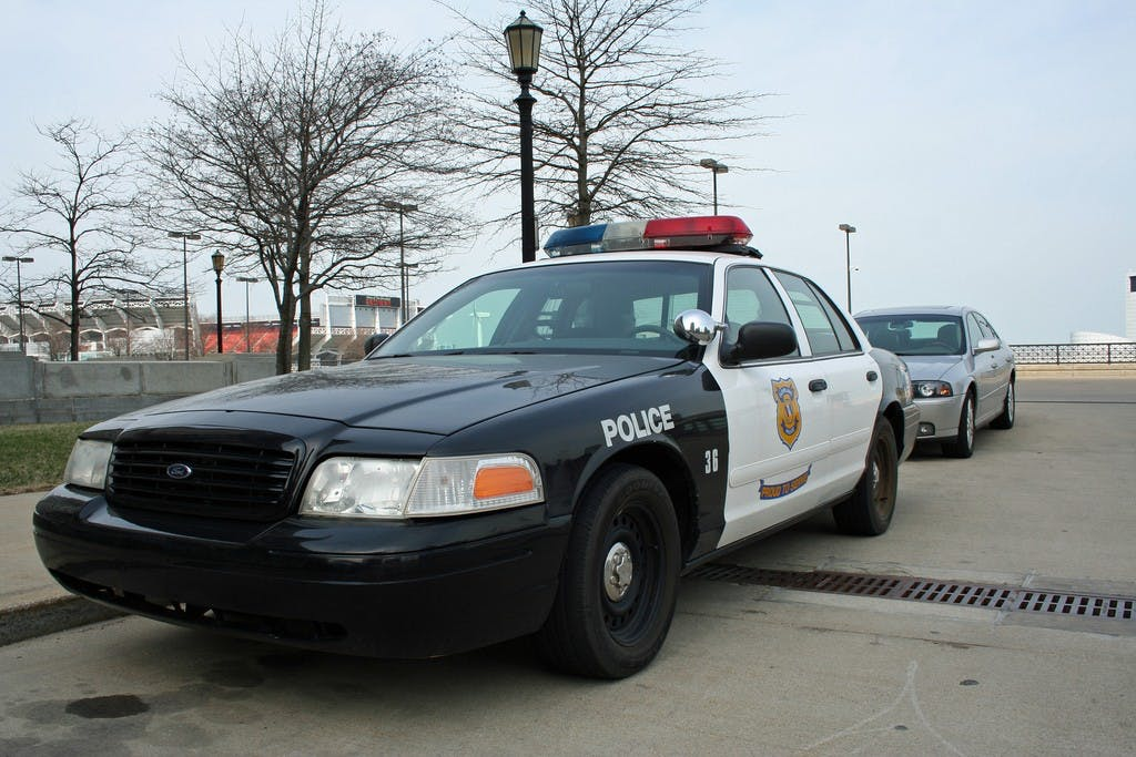 police car 1024x683 How do you explain your brain on drugs to someone whos never tried them? Visually of course.
