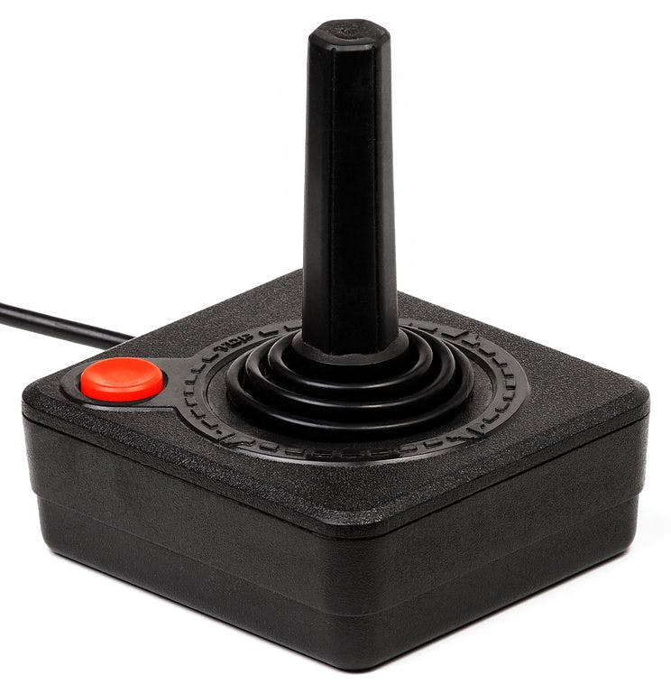 744px Atari 2600 Joystick How do you explain your brain on drugs to someone whos never tried them? Visually of course.