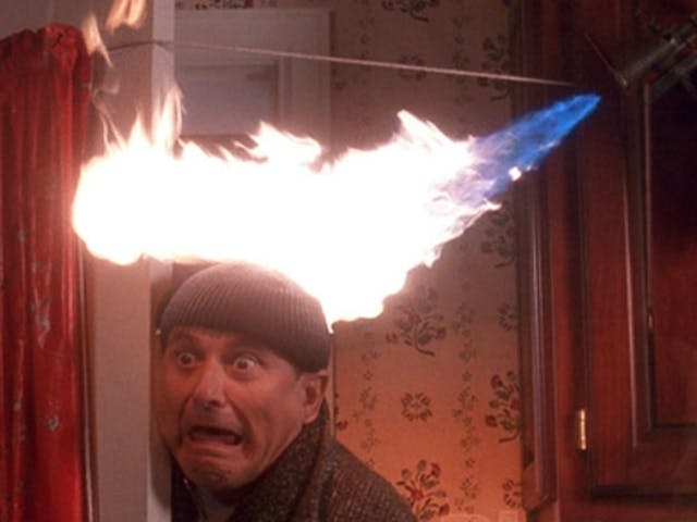 homealone1 Caught: Cops try to destroy evidence of their behavior after dispensary raid. They missed 3 cameras.