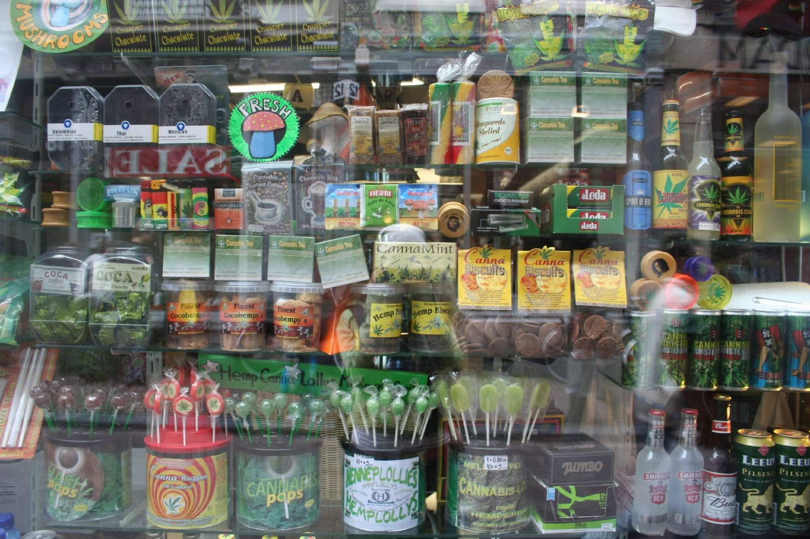Amsterdam 420 cannabis products window Key & Peele   Obama Smoking Weed During College