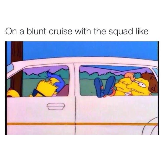 Blunt Cruise Squad Key & Peele   Obama Smoking Weed During College