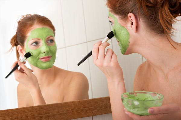 how to make a weed face mask