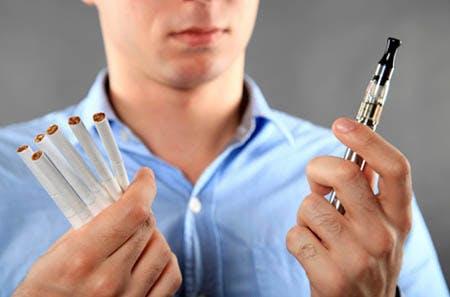 Vaping or smoking