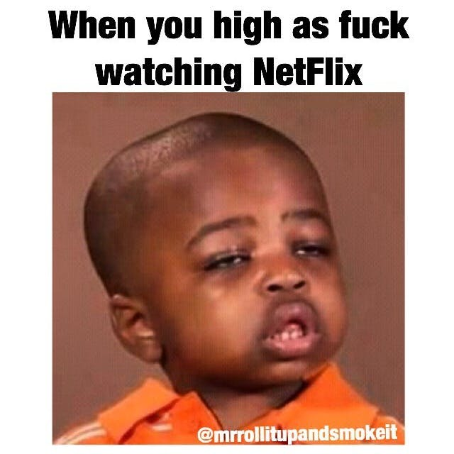 High Watching Netflix Stephen Colbert: Welcome To The First Church of Cannabis