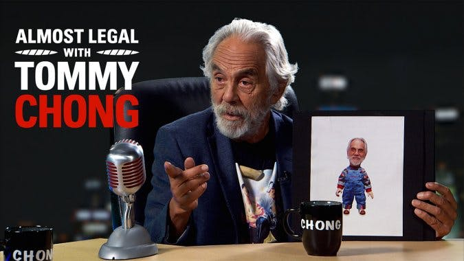 TommyChongAlmost Tommy Chong Announces Almost Legal Sketch Comedy Series   A Stoners Version of The Daily Show