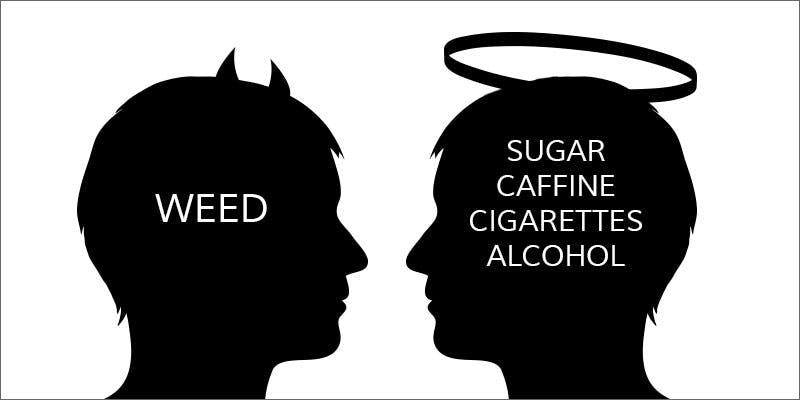 Cannabis is not a gateway drug