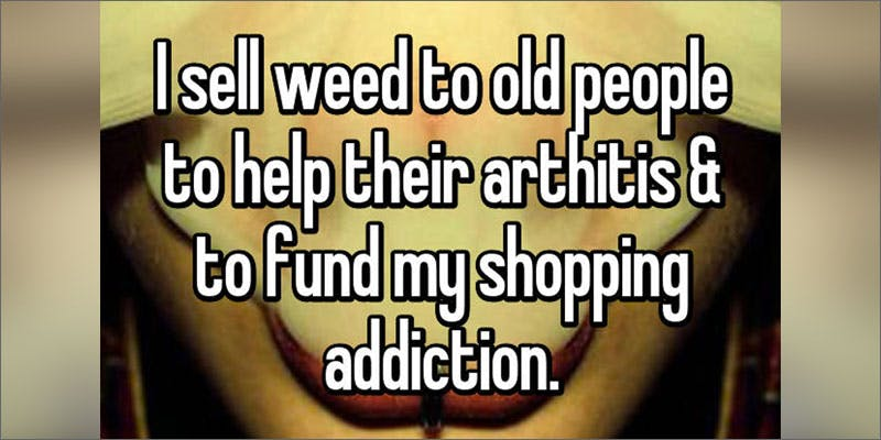 Whisper Marijuana Dealer Confessions