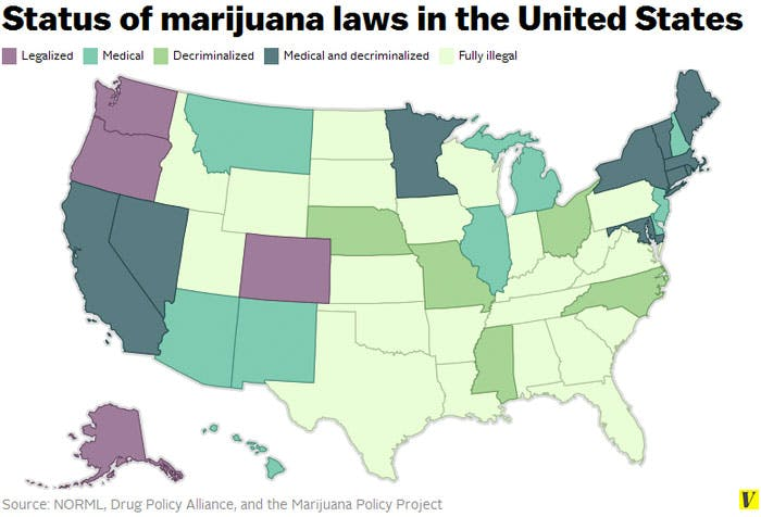 attorney general map Marijuana And Modern Day Religion. Is It A Sin?