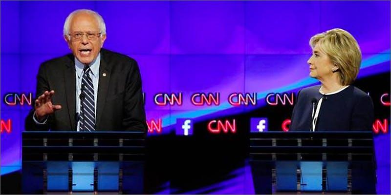 Bernie Sanders and Hillary Clinton discuss marijuana legalization