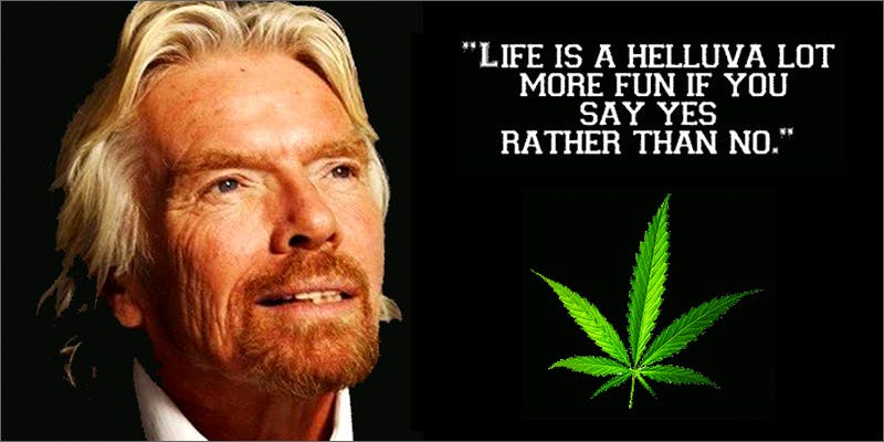 CEOs who admit to smoking marijuana