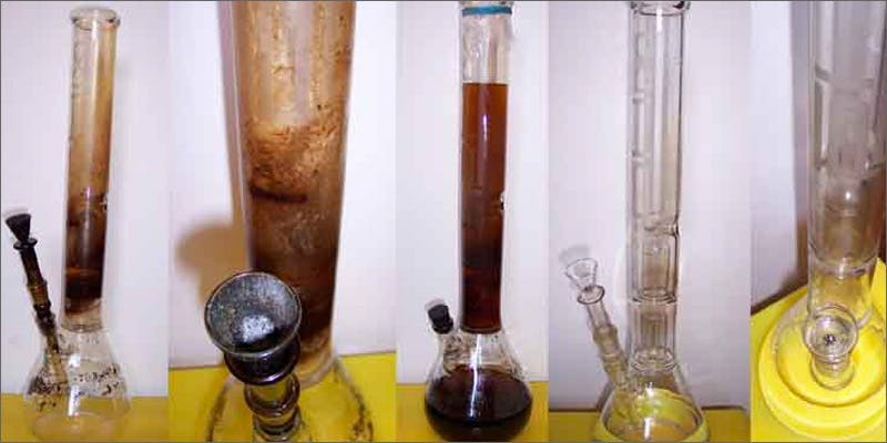 How To Clean Your Bong Or Pipe