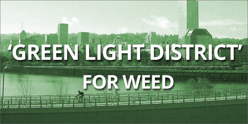 Green light district in portland