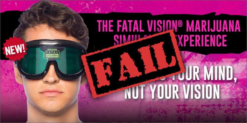 Fatal Vision marijuana goggles