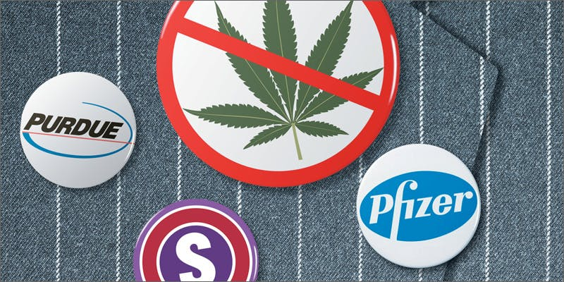 pharma pins Will Big Pharmaceutical Control Cannabis?