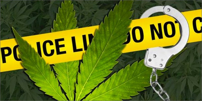 police lines Marijuana And Modern Day Religion. Is It A Sin?