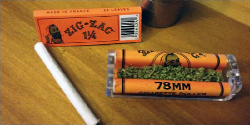 rollling machine zigzag Marijuana And Modern Day Religion. Is It A Sin?