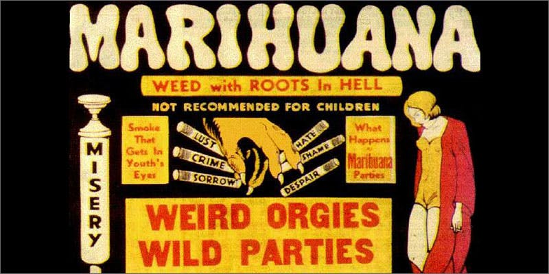 anti-marijuana campaigns lab rat