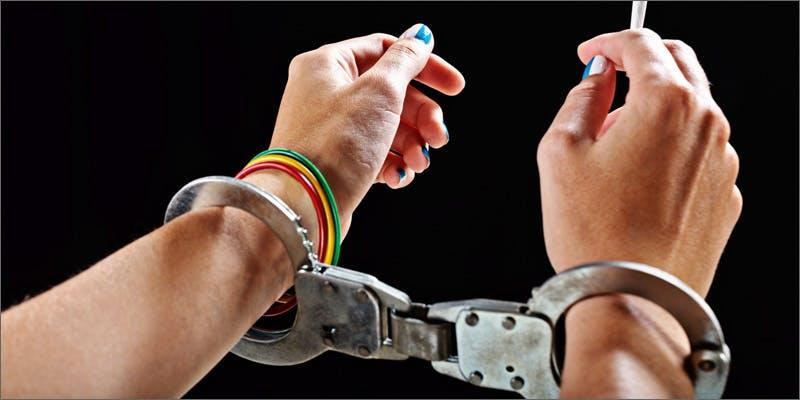 arrest drop cuffs Success: Judge Approves Dying Woman Access To Medical Marijuana