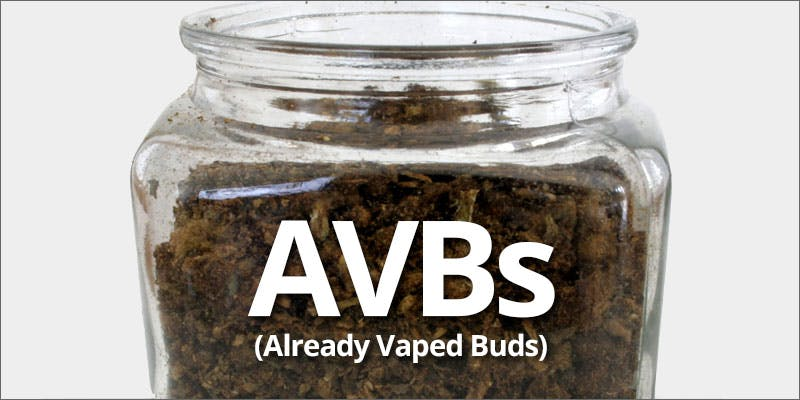 What can I do with my vaped weed?