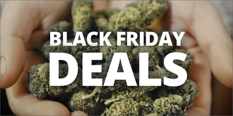 Black Friday Cannabis Deals