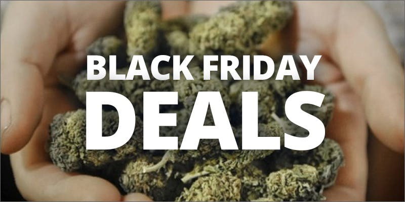 Black Friday Cannabis Deals