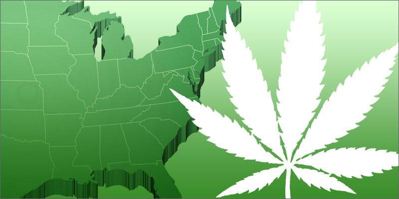 east coast marijuana legalization