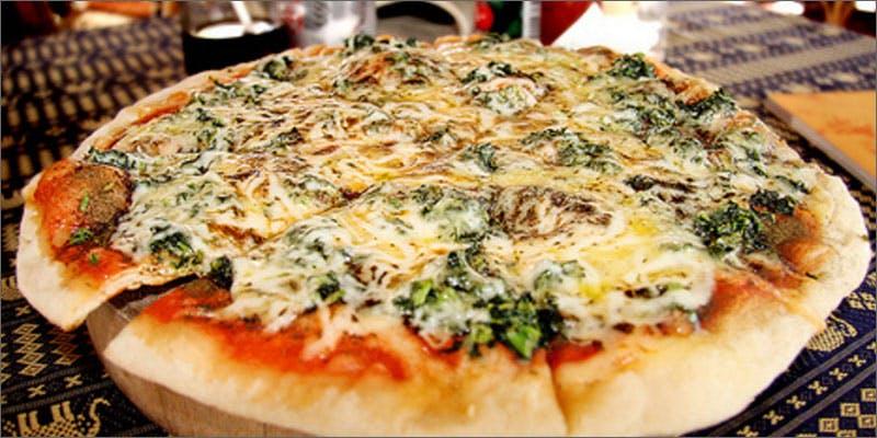 Happy Herb Pizzas