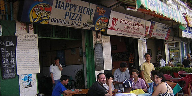 happy herb restaurant Pizza Joint in Cambodia Offers Amazing Happy Herb Pizzas