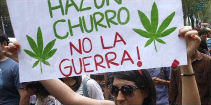 mexico protest 10 Cannabis Drinks You Must Try