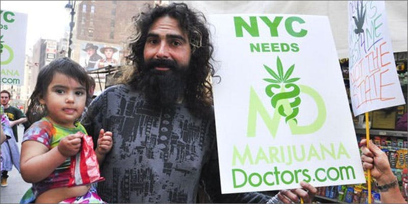 ny sign guy 10 Cannabis Drinks You Must Try