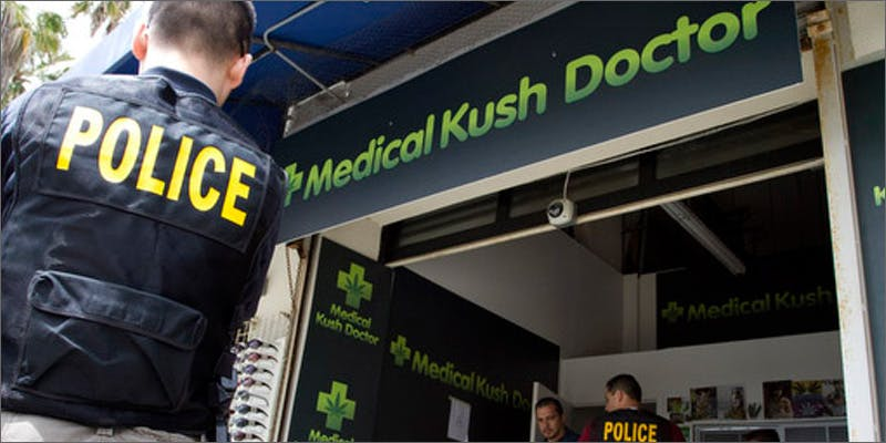 dispensary raids