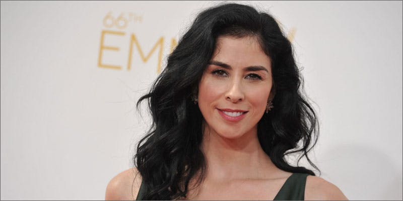 Was Sarah Silverman high at the emmys