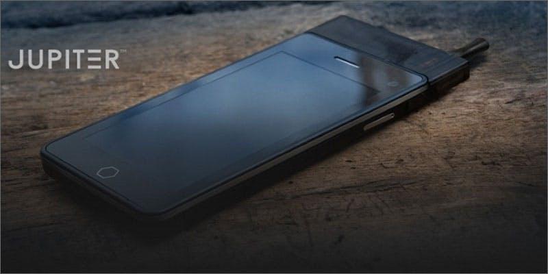 Jupiter vaporizer phone from vapecode