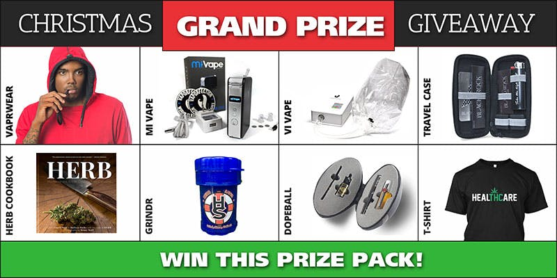 Xmas Giveaway grand prize Could Weed Be In Liquor Stores Soon?
