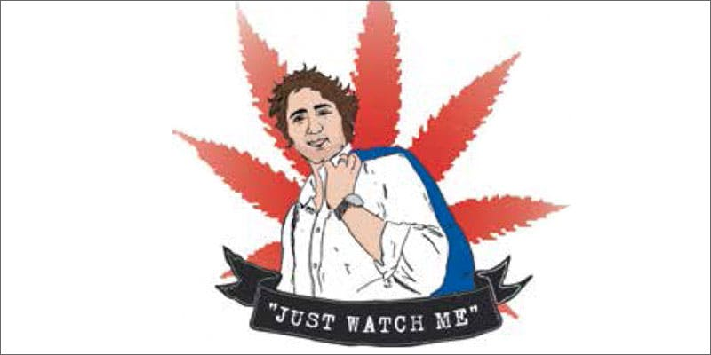 canada trudeau 2 Dumbasses With Weed Get Paranoid And Turn Themselves In