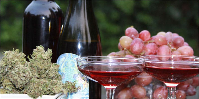 drinks wine Could Weed Be In Liquor Stores Soon?