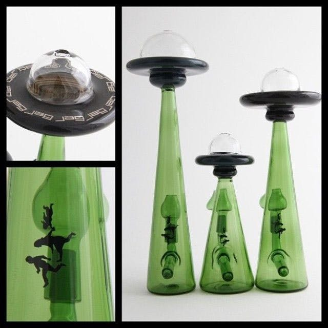 glass alien invasion Could Weed Be In Liquor Stores Soon?