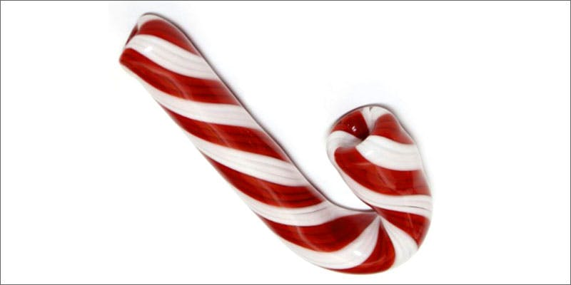 glass xmas candy cane 10 Tasty Adult Treats That Will Remind You Of Your Childhood