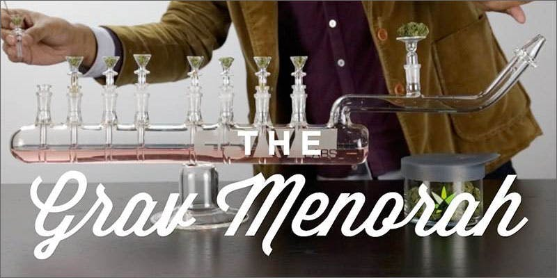 glass xmas menorah 10 Tasty Adult Treats That Will Remind You Of Your Childhood