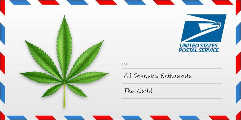 us postal service and marijuana
