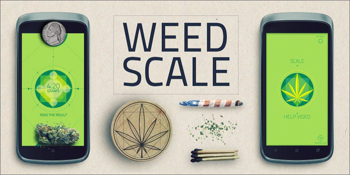 Weed Scale App Weigh Your Weed With Your Smartphone Herb
