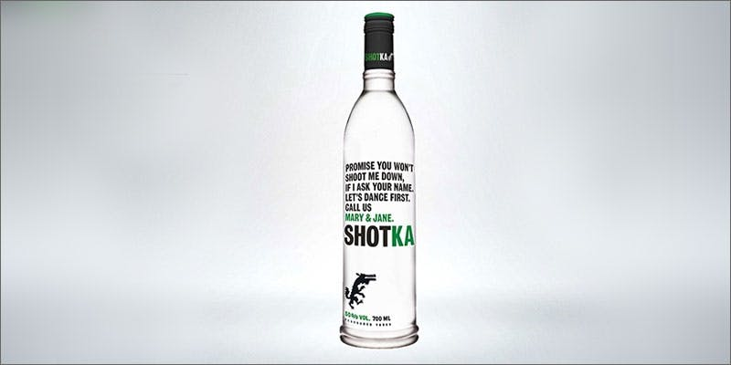shotka cannabis vodka