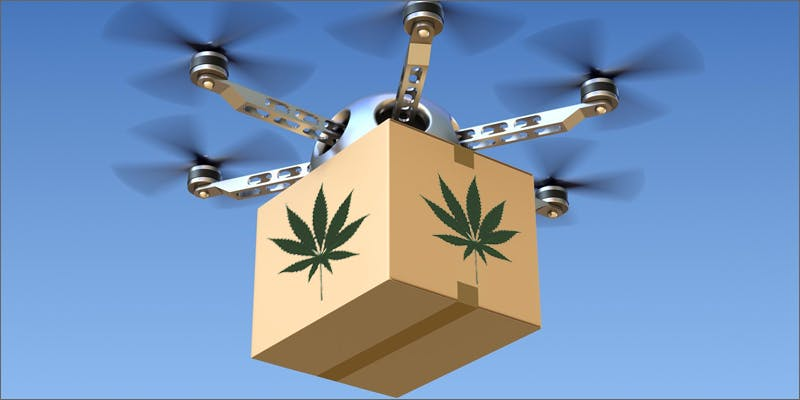 drone delivery 2 Dumbasses With Weed Get Paranoid And Turn Themselves In
