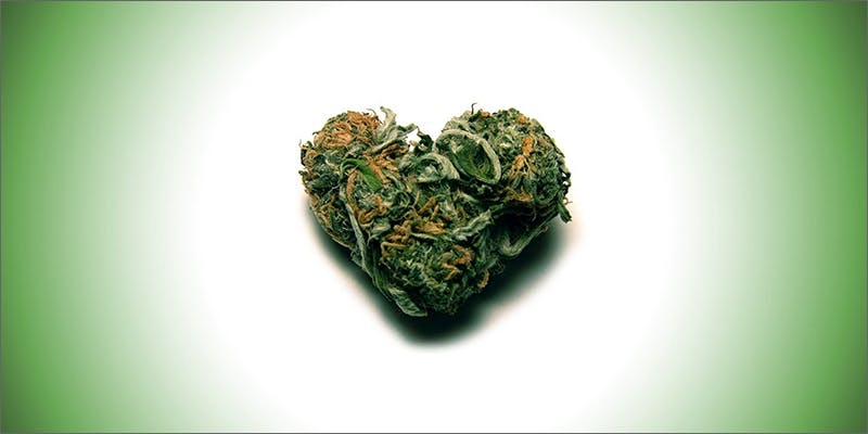 weed heart 1 This Dominos Driver Delivered More Than Just Pizza
