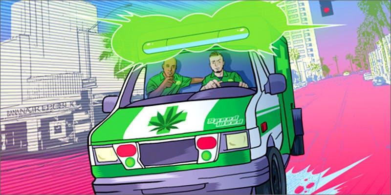 ambulance Chevy Chase and Bill Murrays Marijuana Mission